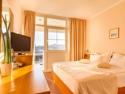 Standard- und Komfort-Einbettzimmer im Hotel Malin