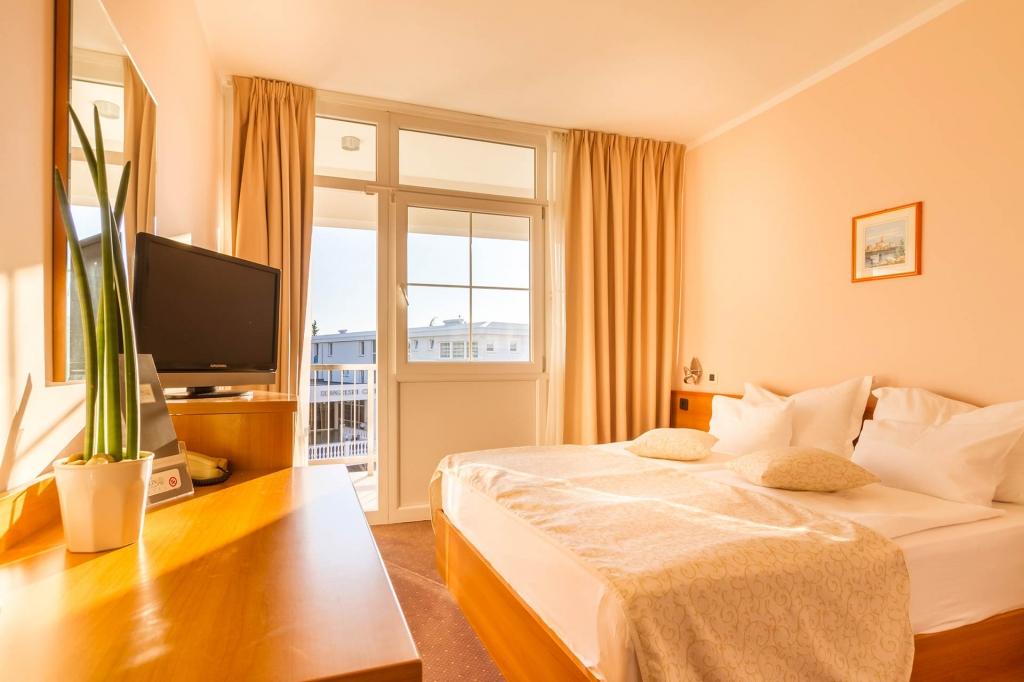 Jednokrevetne standard i komfort sobe Hotela Malin