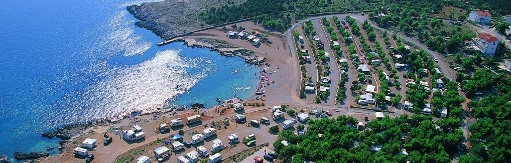 Kamp Tiha Šilo otok Krk