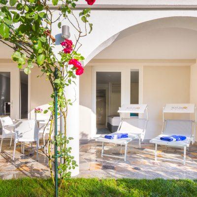 Obiteljski suite s vrtnom terasom