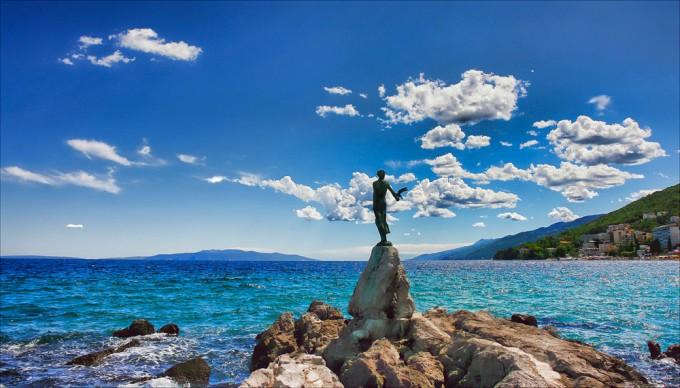 Visita alle città Rijeka e Opatija