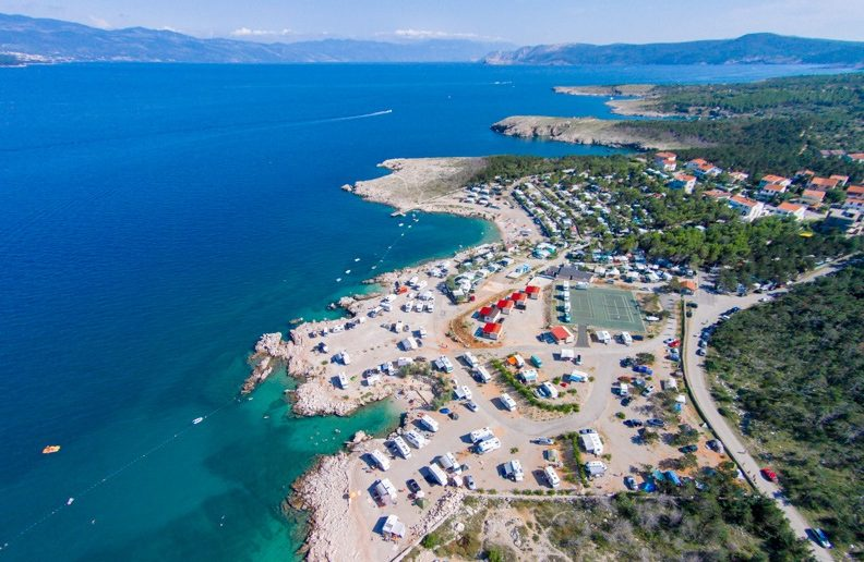Camp Tiha Šilo auf der Insel Krk