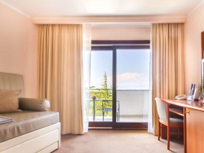 Suite mit Balkon im Hotel Malin