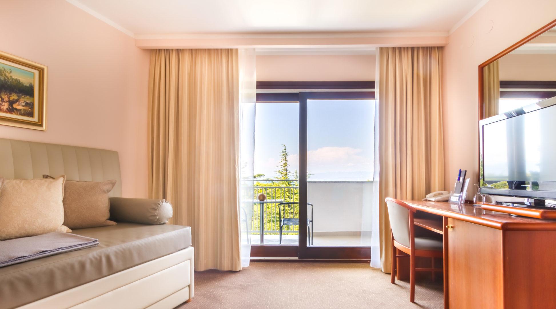 Suite con balcone dell'albergo Malin