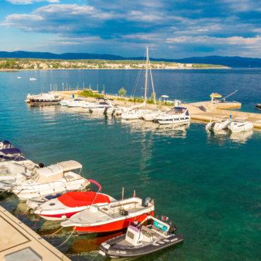 Noleggio barche – l'albergo Malin