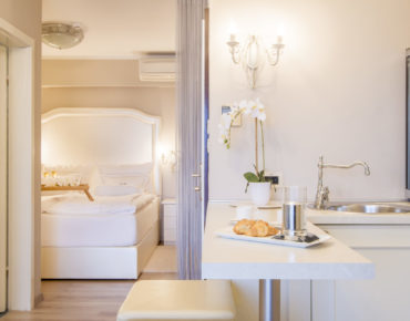 Romantic suite of Hotel Malin