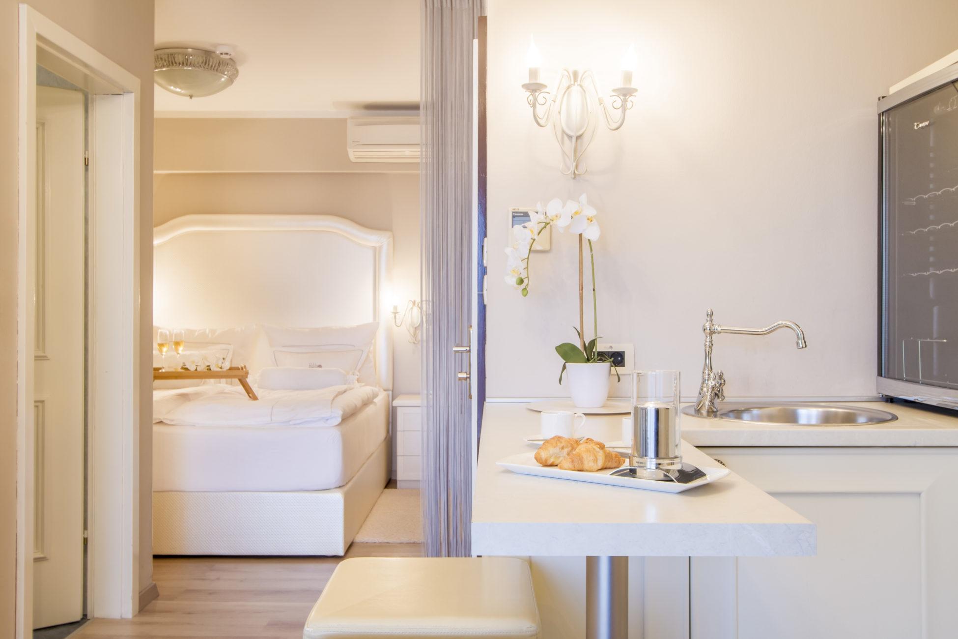 Romantic suite of Hotel Malin