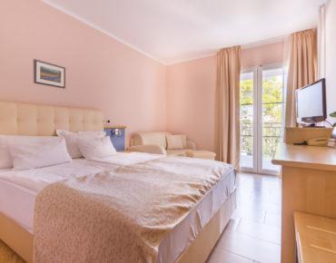 Camere doppie standard e comfort dell'albergo Malin