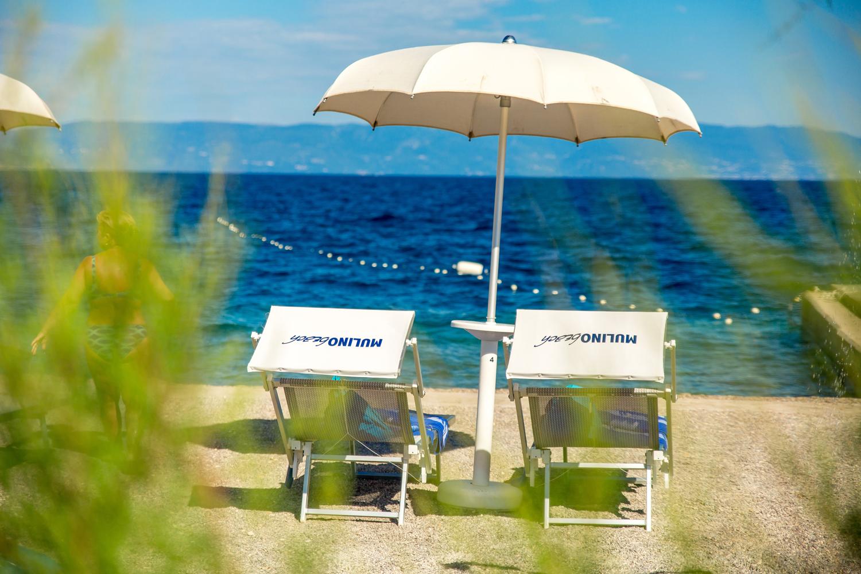 Plaža Mulino, Malinska