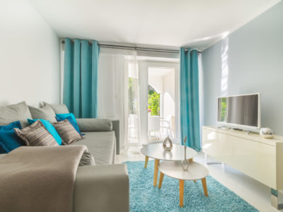 Family suite with a garden terrace of Hotel Malin