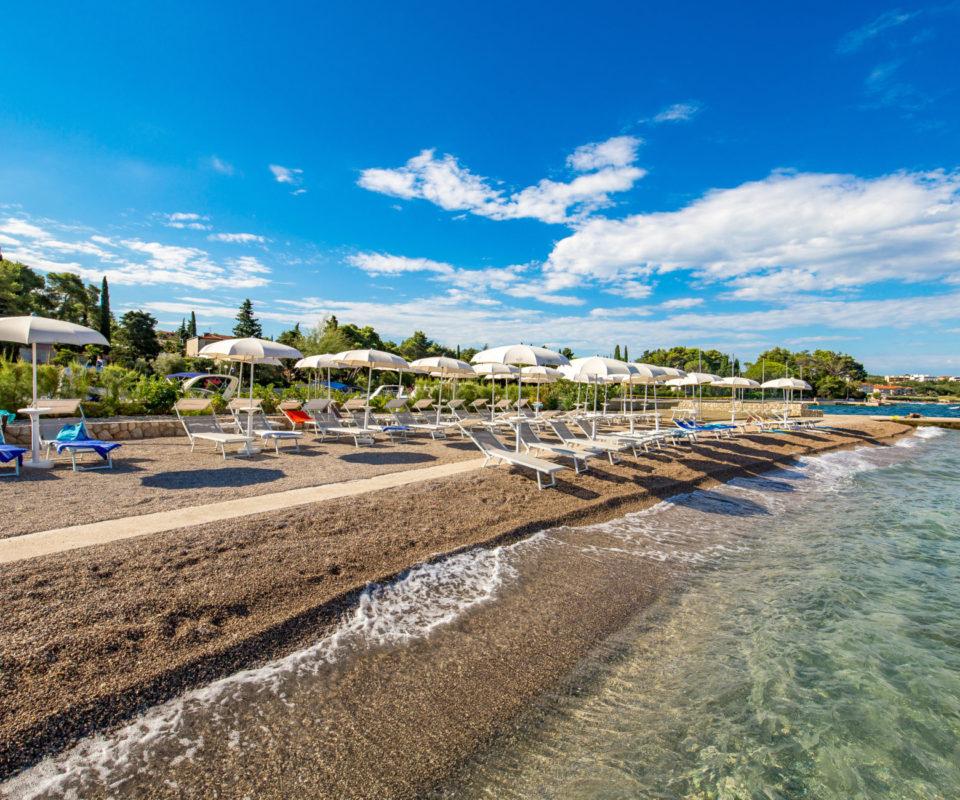 Mulino beach – hotelska plaža