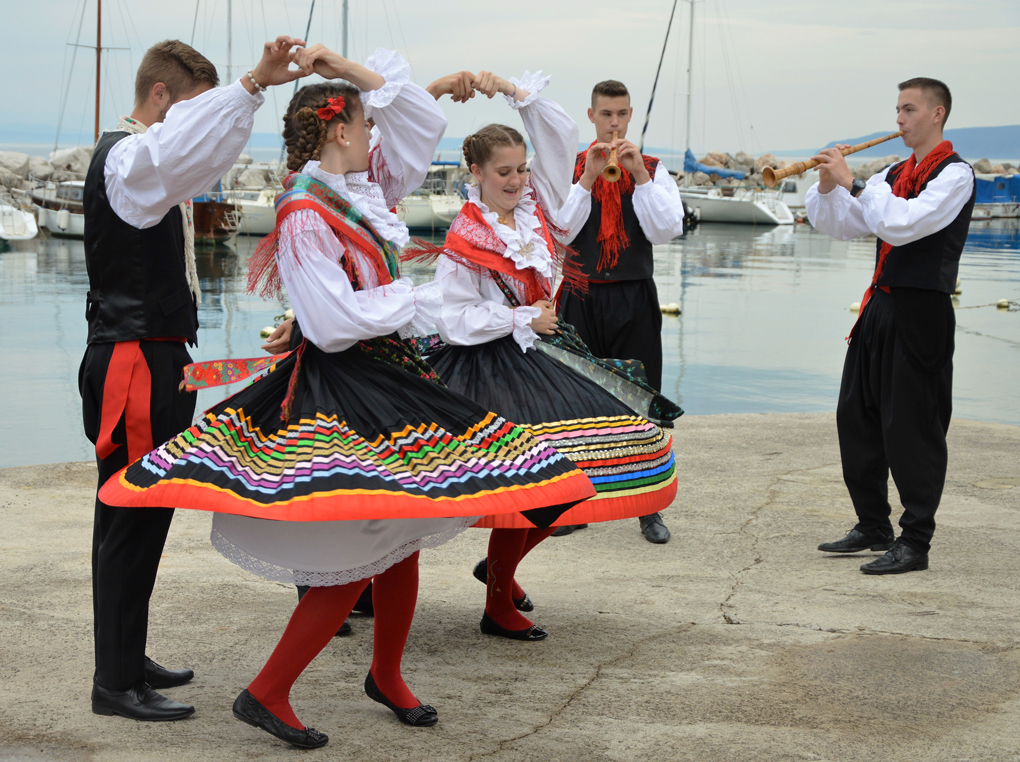 Tanzwettbewerb Island Dance Competition, Malinska
