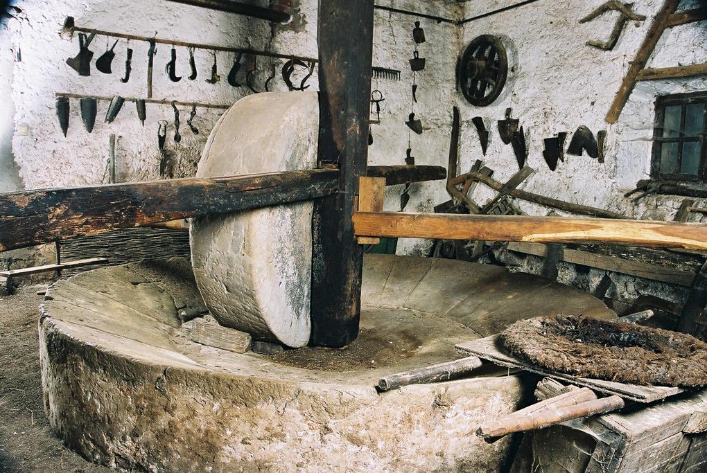 Antike Tage, Fulfinum-Mirine in der Nähe von Omišalj