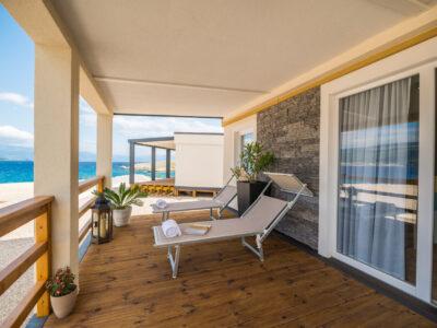 Superior mobilna kućica s pogledom na more