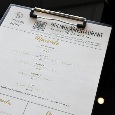 Marende u restoranu Mulino