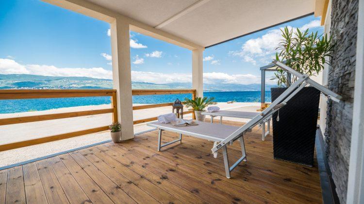 Mobilheim auf der Insel Krk mit perfekter Aussicht